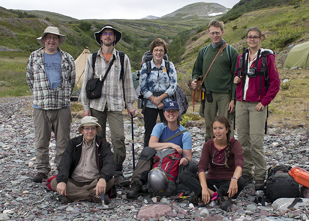 2014 Digermulen research team photograph.