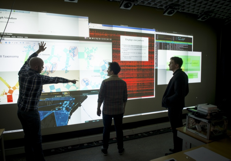 The Display Wall Lab at Department of Computer Science