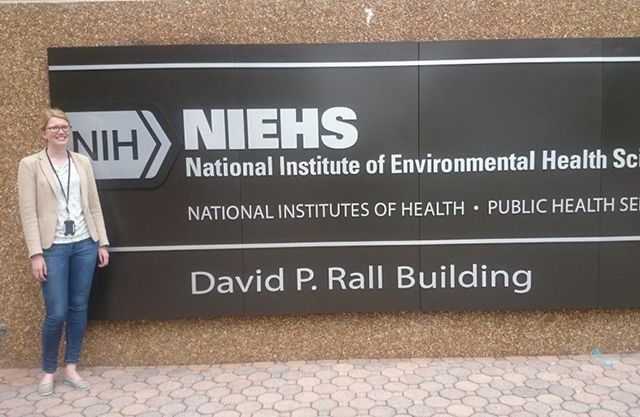 I Was Granted Money From EPINOR To Stay Three Months At The National Institute Of Environmental Health Sciences NIEHS In North Carolina