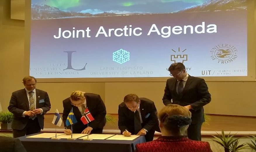 Universities signing the Joint Arctic Agenda