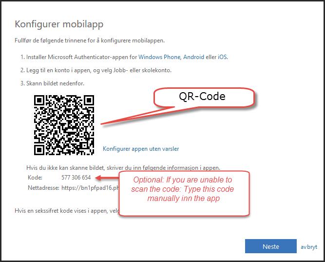 Komme i gang med tofaktor-autentisering via Outlook Web App
