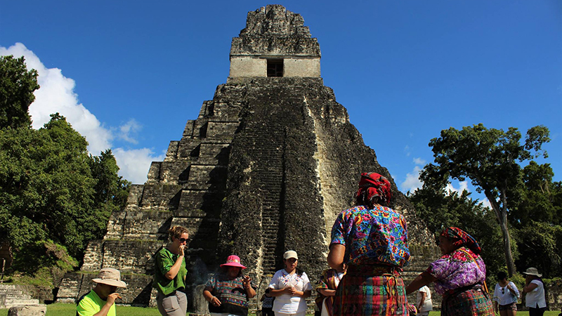 Pyramid in Guatemala