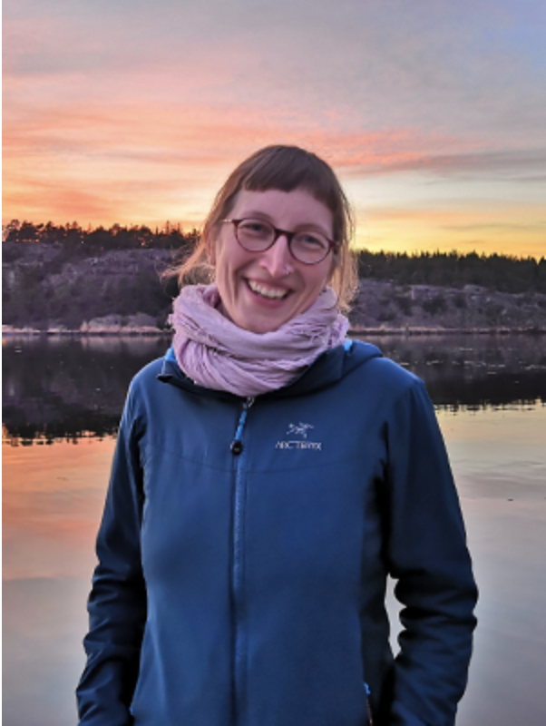Lena Gross during her PhD fieldwork on oils sands extraction on Indigenous homeland in Canada