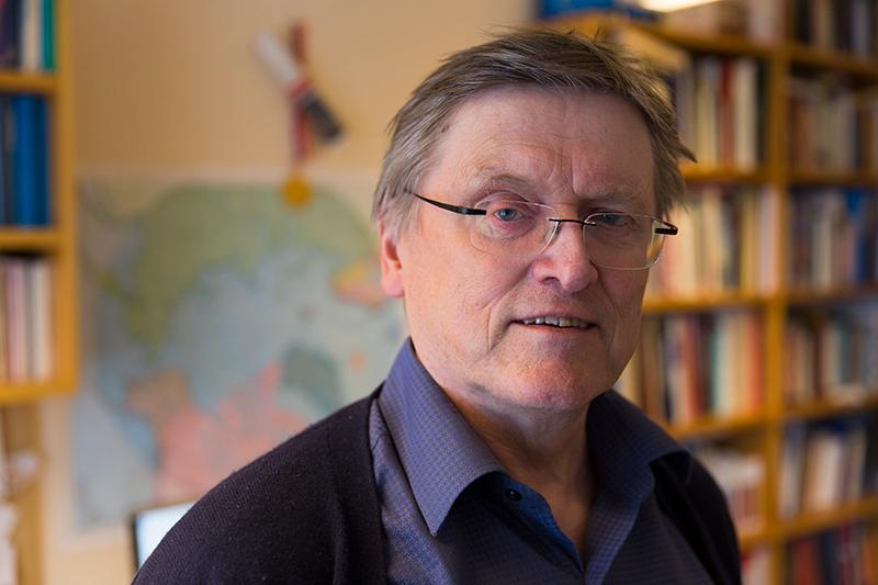 Portrett Hallvard Tjelmeland